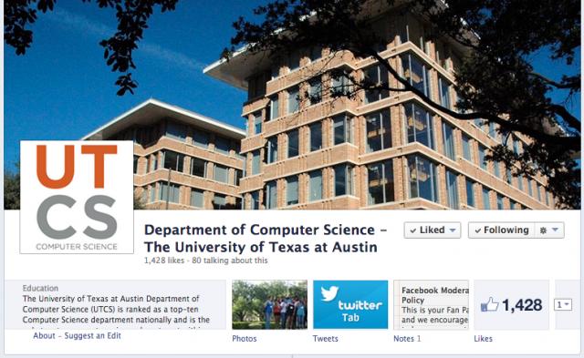 UTCS on Facebook