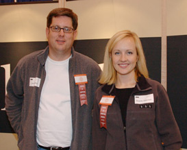 HBK Recruiters, Larry Lindsey and Brandy Peterson