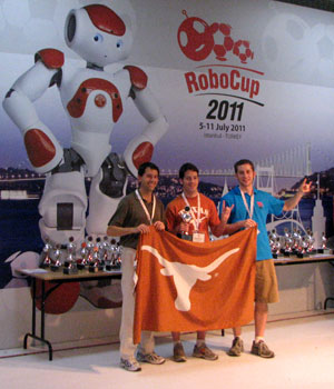 UT Austin Villa Wins World RoboCup Championships in the 3-D simulation division