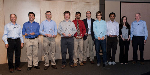2011 Microsoft Research Fellowship recipients.