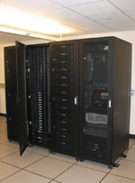 The Mastodon cluster, a 144 node IBM xSeries cluster used for high-performance computing
