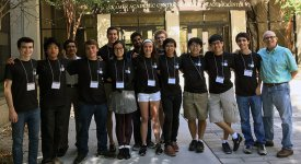 UT Programming Club students at ACM International Collegiate Programming Contest