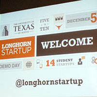 Fifth Annual Longhorn Startup Demo Day