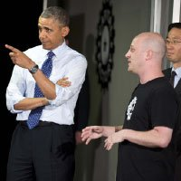 Student Entrepreneurs Meet With President Obama